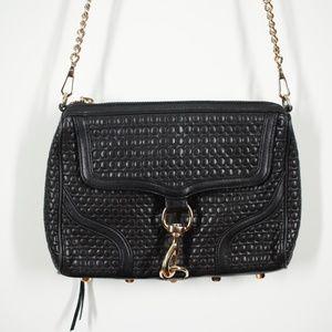 Rebecca Minkoff Black Mac Leather Crossbody Bag
